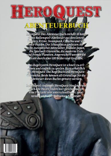 HeroQuest: Abenteuerbuch - Backcover