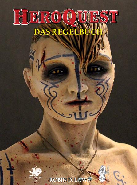 Heroquest: Das Regelbuch - Frontcover