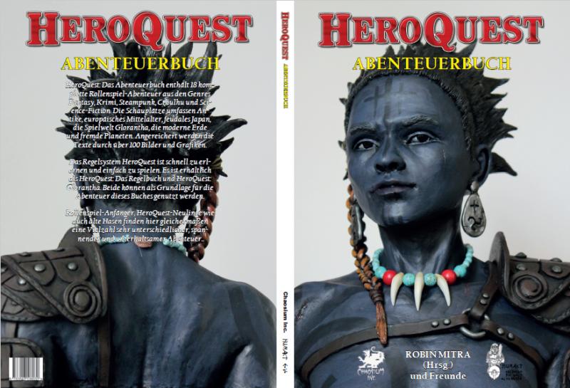 HeroQuest: Abenteuerbuch - Umschlagseiten